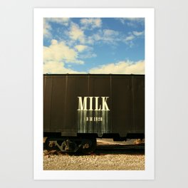 Milk Train Art Print