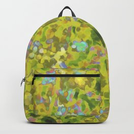 Yellow Wildflower Cluster Hip #1 Backpack