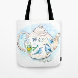 Tea in Wonderland Tote Bag