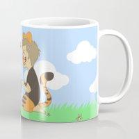 destiel Mugs featuring WTP! Destiel by psych0tastic