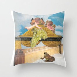 Stop Messing with Me - The Grapes of Wrath Throw Pillow