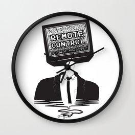 Remote Control: Kill Your TV - Fake News Wall Clock