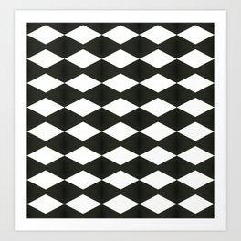Holes pattern Art Print