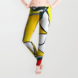 Sunny Abstract #1 Leggings