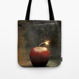 Apple bomb Tote Bag