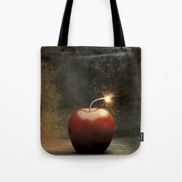 Apple bomb Tote Bag