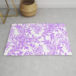 Radiant Orchid Tea Reversed Rug