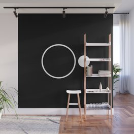 Emptiness - Black and White Minimalism Wall Mural