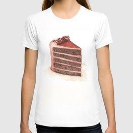 Chocolate Layer Cake Slice T-shirt