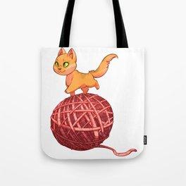 Kitten On Yan Tote Bag