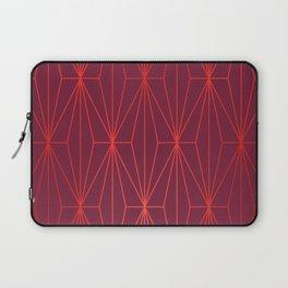 ELEGANT BEED RED TANGERINE  PATTERN Laptop Sleeve