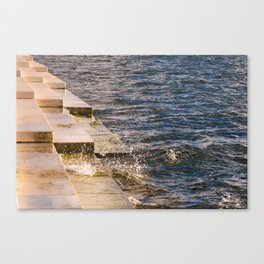Sea Organ Canvas Print