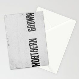 NORTHERN GROWN  White  Stationery Cards