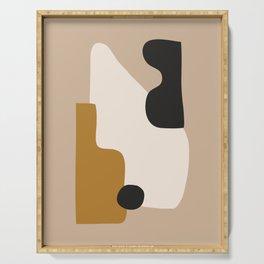 abstract minimal 16 Serving Tray
