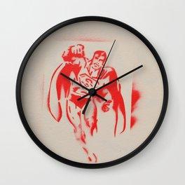 Superman Wall Clock