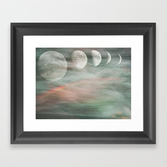 On Moonlight and Rainbows Framed Art Print