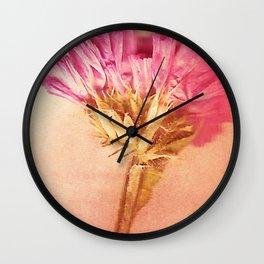 Fleurs de l'éternité Wall Clock