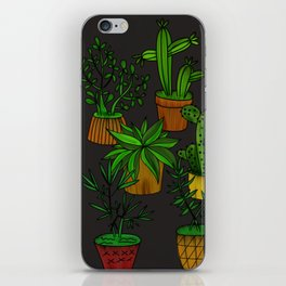 Plants and vases iPhone Skin