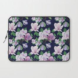 Magnolia Floral Frenzy Laptop Sleeve