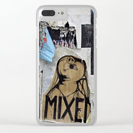 Mixed Emotions Clear iPhone Case