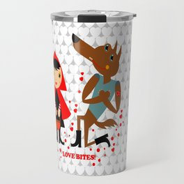 Love bites Travel Mug
