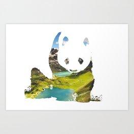 Pandaland Art Print