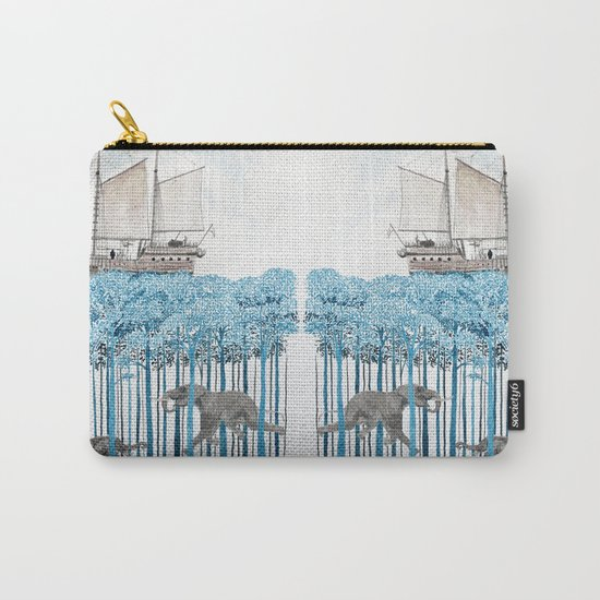 Sea of Trees Carry-All Pouch