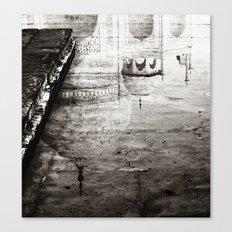 Reflection of the Taj Mahal Canvas Print
