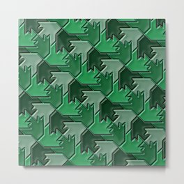 Geometrix 102 Metal Print