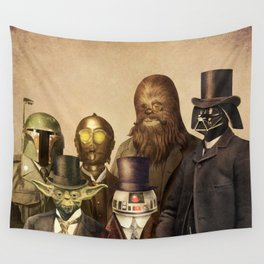 Victorian Wars (square format) Wall Tapestry