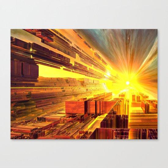 Retro Future Perfect Canvas Print