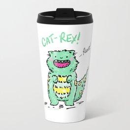 Cat Rex Travel Mug