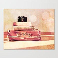 Still Life With Portmanteau Canvas Print