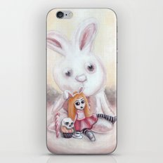 Ester and Bunny iPhone & iPod Skin