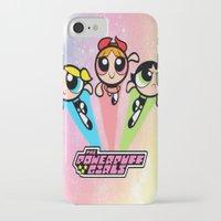 powerpuff girls iPhone & iPod Cases featuring powerpuff girls best decoration ideas design by customgift