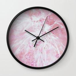 Tutu Rose Delight Wall Clock