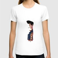 rockabilly T-shirts featuring Rockabilly Boy by quentinschall
