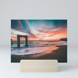 A bridge too far Mini Art Print