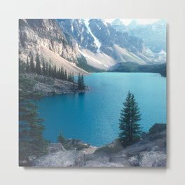 Canadian Serenity: Moraine Lake Metal Print
