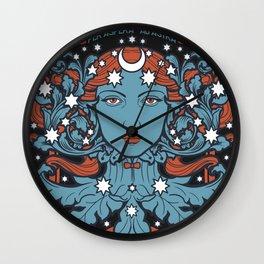 URANIA Per Aspera Ad Astra Wall Clock