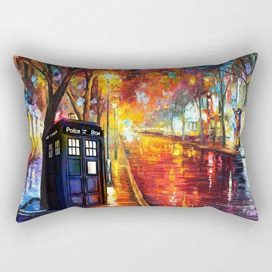 Tardis Full Color Rectangular Pillow