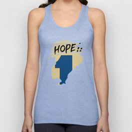 Hope!! (time machine ) Unisex Tank Top