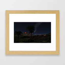 An Ancient Scene in the African Rift Valley Framed Art Print