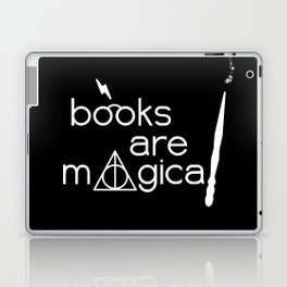 Books are Magical Laptop & iPad Skin