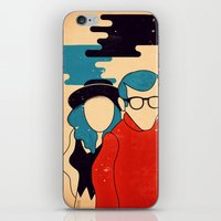 annie hall iPhone & iPod Skins featuring Annie Hall by Roland Lefox