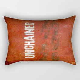 Unchained Rectangular Pillow