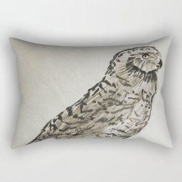 Snowy Owl  #society6 #decor #buyart Rectangular Pillow