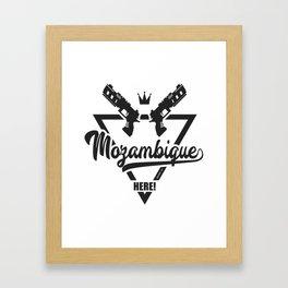 Mozambique Here! Framed Art Print