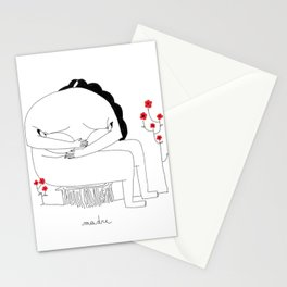 M come Mamma Stationery Cards