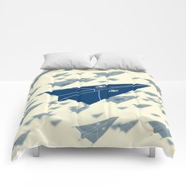 Paper Airplane 11 Comforters